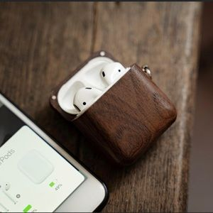 NEW AirPod Magnetic Wooden Case